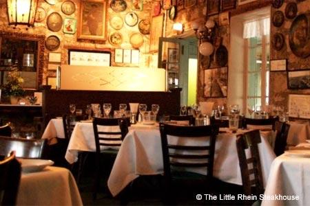 Romance awaits at The Little Rhein Steakhouse in San Antonio