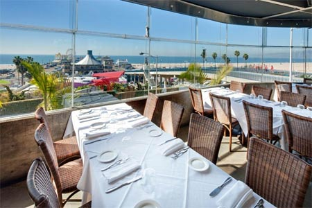 Enjoy ocean views at The Lobster, one of GAYOT's Best Seafood Restaurants in Los Angeles