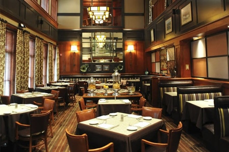 LockKeepers serves high-end Italian fare in one of Valley View's most handsome spaces.
