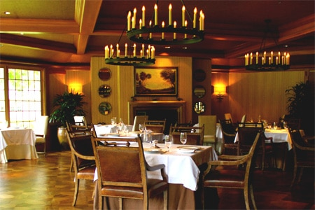 Dining room at THIS RESTAURANT IS TEMPORARILY CLOSED The Lodge at Koele Dining Room, Lanai City, HI