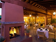 Dining room at Lodge on the Desert, Tucson, AZ