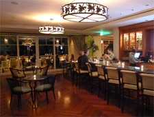 Dining room at The Loft Bistro, Laguna Beach, CA