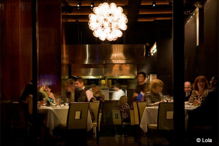 One of GAYOT's Top Romantic Restaurants in Cleveland, Lola serves upscale American fare in a sexy setting