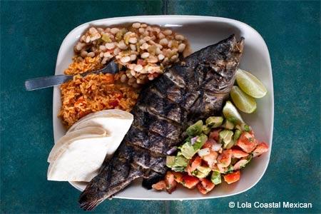Enjoy some of Denver's best seafood at Lola Coastal Mexican restaurant