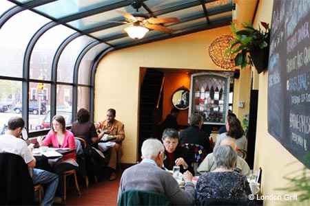 Dining Room at London Grill, Philadelphia, PA