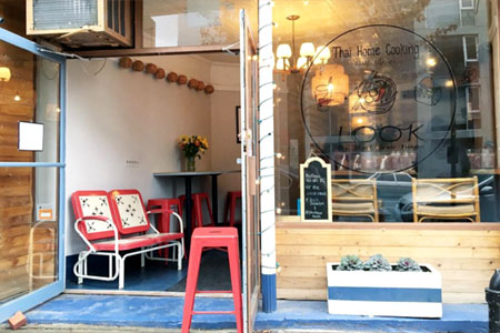 Look, the sister venue of Plant Love House, serves home-style Thai food