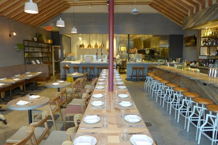Dining Room at Love & Salt, Manhattan Beach, CA