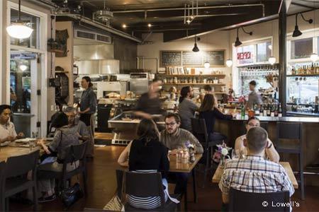 Lowell's, Sebastopol, CA