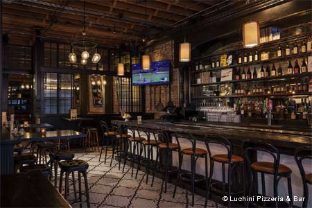 Luchini Pizzeria & Bar, Los Angeles, CA
