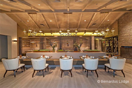 Enjoy an elegant meal at Lucia Restaurant & Bar in Carmel Valley, CA