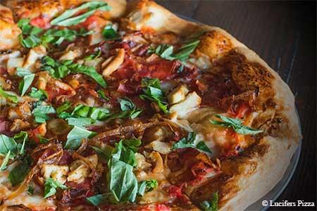 Lucifers Pizza, Studio City, CA