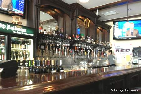 Lucky Baldwins Trappiste Pub & Cafe , Pasadena, CA