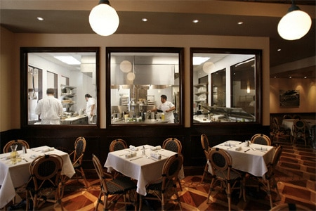 Dining room at Luke, New Orleans, LA