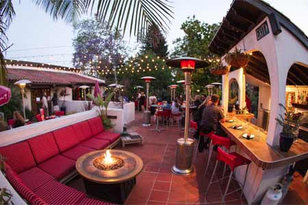 Luna Red in San Luis Obispo has one of the best restaurant patios on California's Central Coast