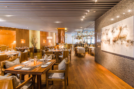 Maison Boulud restaurant in Montreal is elegant, refined and very French