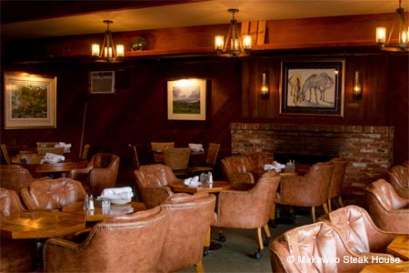 Dining Room at Makawao Steak House, Makawao, HI