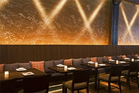 Dining Room at Makoto, Bal Harbour, FL