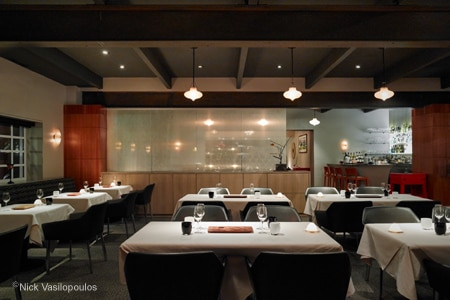 Dining room at Manresa, Los Gatos, CA