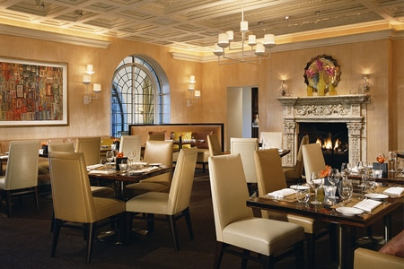 The Mansion Restaurant at Rosewood Mansion on Turtle Creek is one of the most romantic restaurants in Dallas