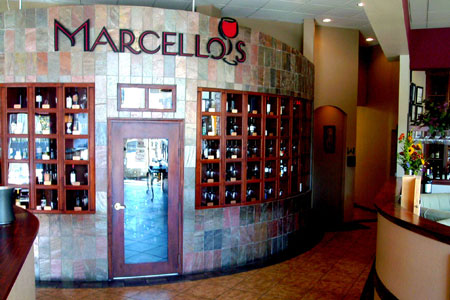 Dining room at Marcello's Chophouse, Albuquerque, NM