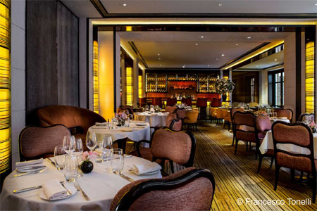 Dining Room at The Mark Restaurant by Jean-Georges, New York, NY