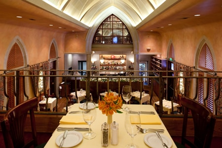 Enjoy a romantic dinner at Mark's American Cuisine in Houston