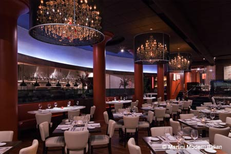 One of GAYOT's Top 10 Restaurants with the Best Food in Columbus, Martini offers a hip, fun Italian bistro atmosphere