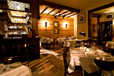Martinique Bistro, one of the Top 10 Romantic Restaurants in New Orleans