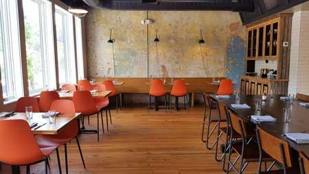 Dining Room at Mary Hoopa