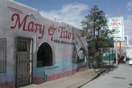 Dining Room at Mary & Tito's Cafe, Albuquerque, NM