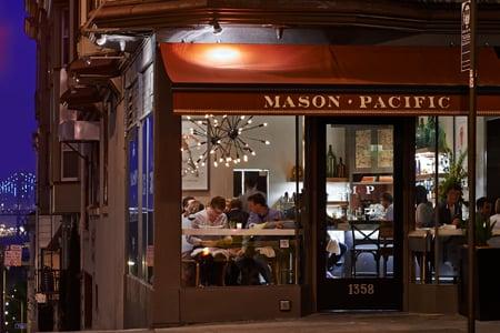 THIS RESTAURANT IS CLOSED Mason Pacific, San Francisco, CA