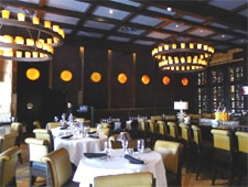 Dining room at Mastro's Ocean Club, Newport Beach, CA