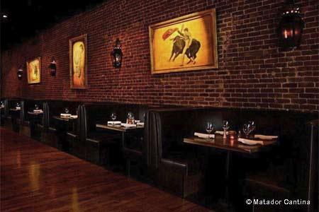 Dining Room at Matador Cantina, Fullerton, CA