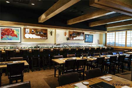 Dining Room at Matsuhisa, Beverly Hills, CA