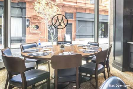 Max Downtown restaurant is Hartford's chophouse and seafood emporium