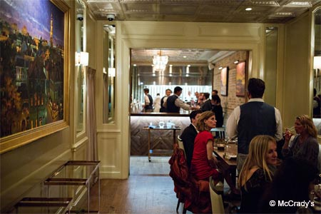 One of GAYOT's Top 10 Restaurants with the Best Food in Charleston, McCrady's offers upscale Southern-influenced cuisine