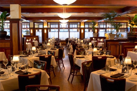 Dining Room at McKendrick's Steak House, Atlanta, GA