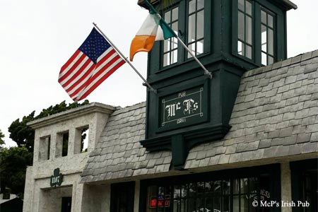McP's Irish Pub, Coronado, CA