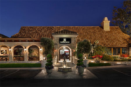 Dining Room at Mediterraneo, Westlake Village, CA