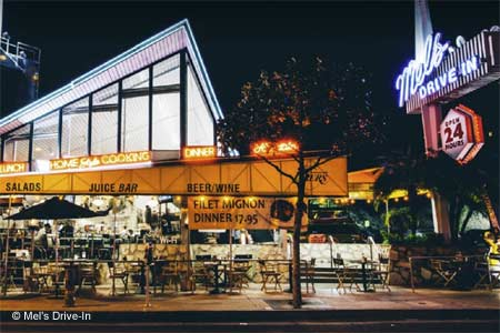 Mel's Drive-In, West Hollywood, CA