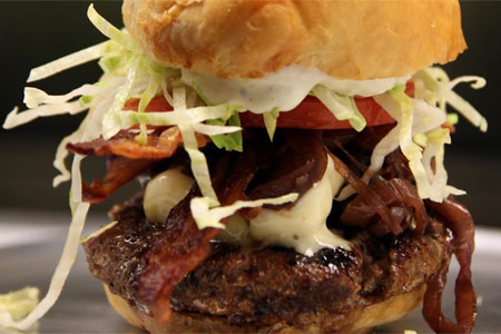 MELT Gourmet Cheeseburgers serves some of the best burgers in the Virginia suburbs of DC