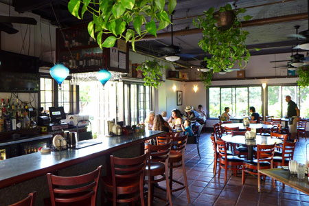 Dining room at Merriman's Mediterranean Cafe, Waikoloa, HI