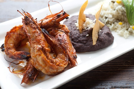 Camarones from Mesa Coyoacan, one of GAYOT's Top 10 Mexican Restaurants in New York