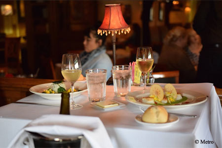 Metro Wine Bar & Bistro is one of the most romantic restaurants in the Oklahoma City area