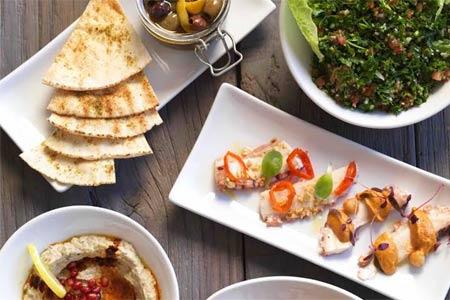 Mezzet Mediterranean Cuisine, Costa Mesa, CA