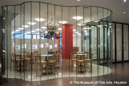 Dining Room at MFA Café, Houston, TX