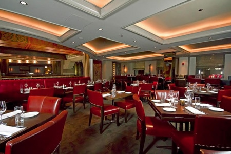 Dining room at Michael Jordan's Steak House, Chicago, IL