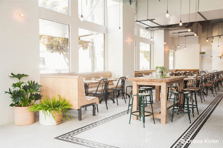 Quinn and Karen Hatfield have opened The Mighty in DTLA