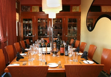 Dining room at Mignon, Plano, TX