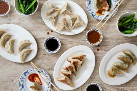 Enjoy dumplings while saving some dough at Mimi Cheng's, one of GAYOT's Top 10 Cheap Eats in New York